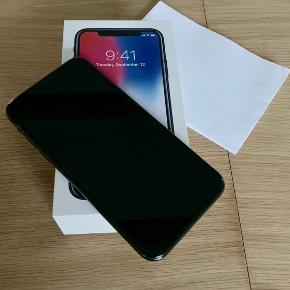I phone X 64 GB købt 9/3-18 (i Power og kvittering haves med fortsat reklamationsret frem til 9/3-20) Fejler intet pånær lidt små brugsridser. Sælges pga. jeg har købt en nyere model.
