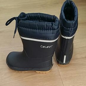 Vinter gummistøvler, brugs et par gange,  som ny.