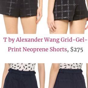 Superlækre shorts i neopren - livvidde 89 cm - T by Alexander Wang