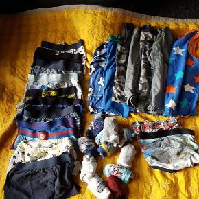 Stor pakke undertøj med mange dele - uden mærker i tøjet :-)