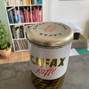 Kafax Kaffe kaffedåse med låg