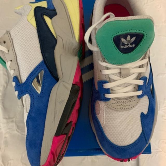 adidas Originals Falcon W BlueYellowPink BB9174