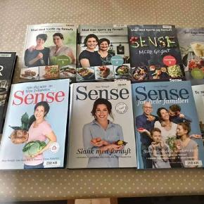Har disse 9 sense bøger som er købt af nye og ikke blevet brugt