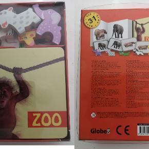 Globe zoo 3i1 *NY* Bog, legetøj og spil i én pakke. Helt nyt i ubrudt emballage Nypris: 129,95 kr. Pris: 90 kr. eller kom med et bud  Porto:  60 kr. som brev med PostNord  38 kr. som pakke med DAO  39 kr. som pakke med GLS 60 kr. som pakke med PostNord