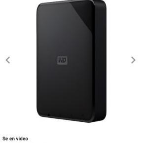Harddisk. 2TB  Aldrig åbnet.  Mp: 600kr