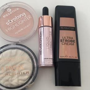 Highligter pakke, alt for 50kr  Makeup revolution