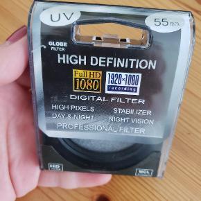 Digital filter uv 55mm