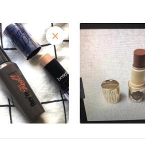 Benefit hula stick bronzer mini ( prøvet én gang) Benefit they're Real mascare mini (ubrugt )   70 pr styk // 150 for begge - 160 kr inkl fragt
