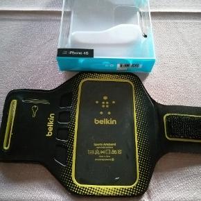 Sportsarmbånd fra Belkin. Passer til bla ældre IPhone 4 og 4s. (16GB, 32GB, 64GB) kun brugt få gange.