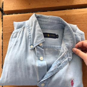 Oversize skjorte i hør