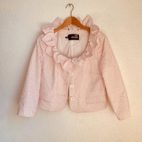 Unik Vintage Love Moschino jakke  Pastel pink   Størelse: U.S. 8  / 38