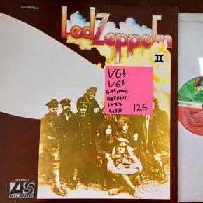 Led zeppelin II USA tryk lækker stand vinyl lp plade