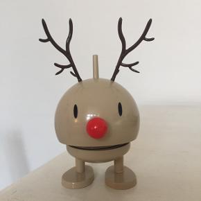 Bumle Rudolf hoptimist i brun. 7 cm i højden. Købt for 200 kr. I perfekt stand.