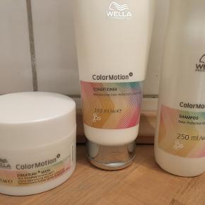 wella professional shampo, balsam og maske til farvet hår! god kvalitet produkter- ikke åbnet