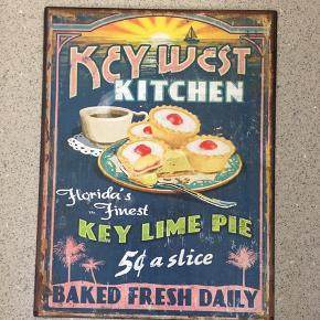 Retro plakat i metal 25x33cm