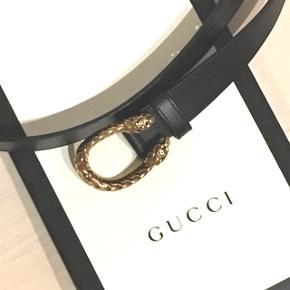 Gucci Dionysius Belt. Pouch, receipt and paper bag available. Size - 90cm. Original Price DKK2475. No exchanges.