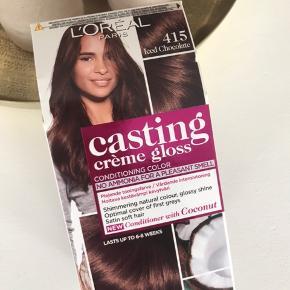 Brun hårfarve ikke åbnet