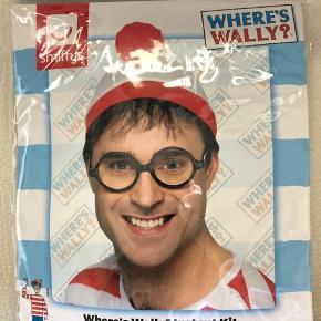 Find Holger sæt, indeholder briller og hat - brugt en enkelt ganc