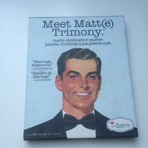 Ikke brugt særligt meget  Øjenskyggepalette fra the balm - Meet Matt (trimony)