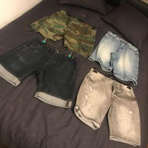 Shorts tailles M&L, 15fr pièce