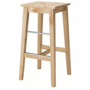 Barstole fra IKEA. To stk. sælges for 150 kr. afhentet i Virum. De er i fin stand og fejler intet.