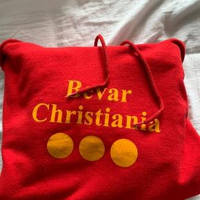 Christiania hoodie, brugt gå gange