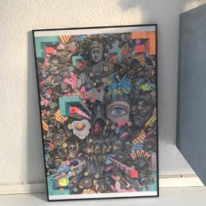 Limited edition plakat af Yasuto Sasada  Ramme kan købes med for 100kr oveni  Mål: 61x91