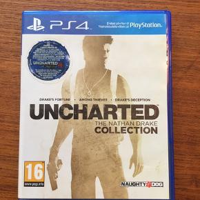 Uncharted collection til PS4