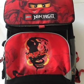 Lækker nybegynder skoletaske sælges
