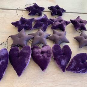 Flotte lilla ting fra oi soi oi til juletræet  Nypris pr. 49,- 16 stk
