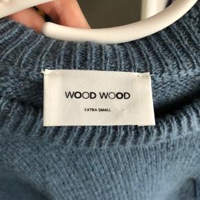 Sælger denne strik fra Wood Wood💙💜ALDRIG BRUGT