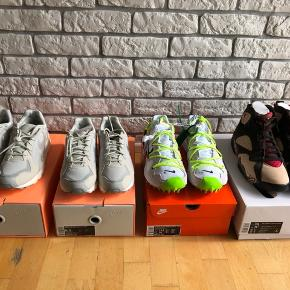 Nike X Fear of god size 42 mp1200 Nike X off white size 44 mp 2000 Air Jordan X Patta and air Jordan retro 4 size 44 mp 1900 New with original boxes Pick up in vesterbro or shipping with dao. Bid