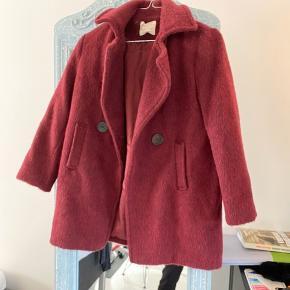 Super fin frakke fra Zara i str. 140 - aldrig brugt