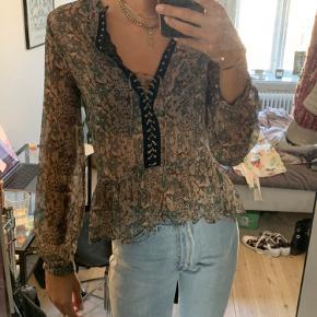 Blomstret tunika/skjorte/bluse