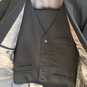 Fint jakkesæt i uld