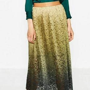 Zara tie-dye accordion pleat skirt str.L