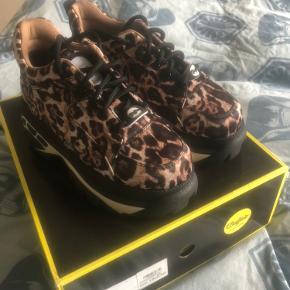 Helt nye leopard fedeste sko men får den ikke brugt