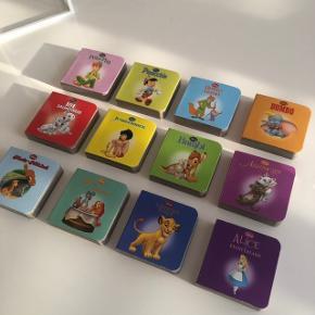 Disney Classic begynderbøger. Som nye - 12 stk. Nypris 149,-