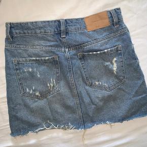 Denim nederdel fra Zara 🦋
