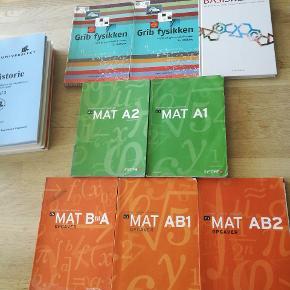 Fuld sæt studie bøger til adgangskursuset. Skriv og spørg hvis der er spørgsmål til udgivelsen.