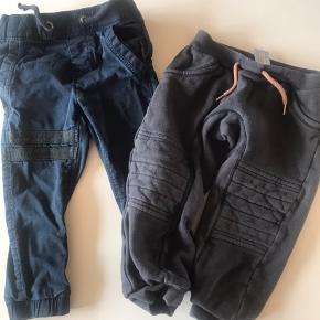 To par bukser. Fejler intet. Name it og Jacky baby. Kan hentes i Farsø. Eller sendes med Trendsales-handel (køber betaler porto).