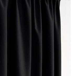 Helt  ny multifunktionsgardin  i sort mørklægning fra Jotex.  Aldrig brugt kun taget ud af emballagen. Np299  Str for et fag :bredden 135cm                           Længden 250cm