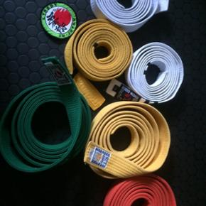 Karatebælter 170-180 cm