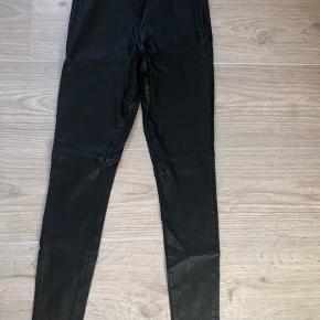 Look a like læder bukser
