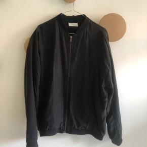 Weekday cupro Julius collection oversized bomber-jacket