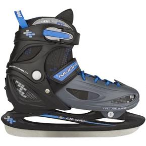 Nye Ice Hockey Skate 3070 Junior Black Gray Blue Størrelse 30/33  Nøglespecifikationer 30-33 Unisex Multifarvet Pris på Wupti 372kr  200kr