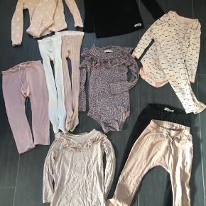 SÆLGES KUN SAMLET!!  Camcam nattøj, 2 par Mp strømpebukser (rosa er uld), petit by ss body+buks, 3 par marmar bukser, 2 bluser fra marmar og en body fra marmar. Sælges kun samlet. Str.3 år (98)