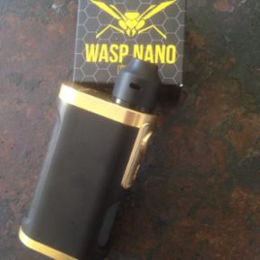 Furyan Mechanical squonker with nano wasp RDA(or Pulse 24 RDA)single 18650/20700/21700 compatible *new* my collection is getting to Big thats the reasson Why im Selling allot of my sqounkers and rda's give me a bid