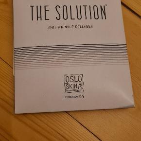The Solution fra Olso skin lab.   Den har været med i en Goodiebox, åbnet og lukket igen 1 gang. Alle pakker i forseglede og dermed ubrugte.