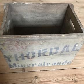 Thordal sodavandskasse  🔸Flere forskellige ølkasser på min profil🔸